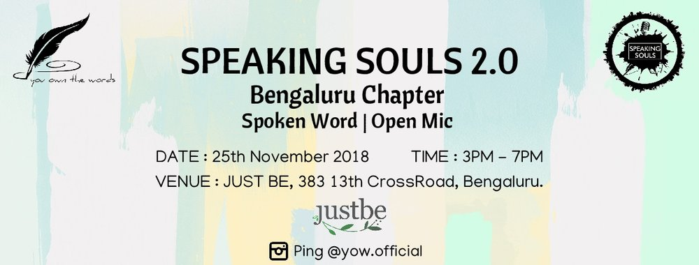 Speaking Souls 2.0: Bengaluru .jpg