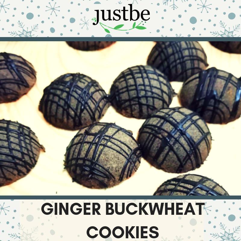 Ginger Buckwheat Cookies