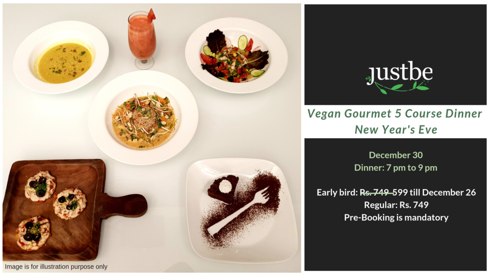 New Year Vegan Gourmet Dinner Party