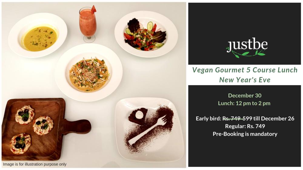 New Year Vegan Gourmet Lunch