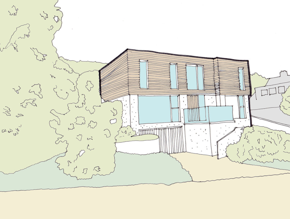 Flat Roof Front Sketch With Colour.jpg