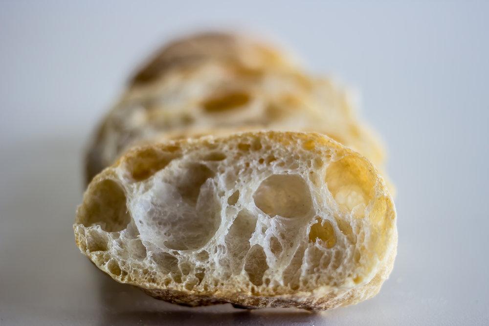 Pan de Cristal con biga - Biga de harina TAURO