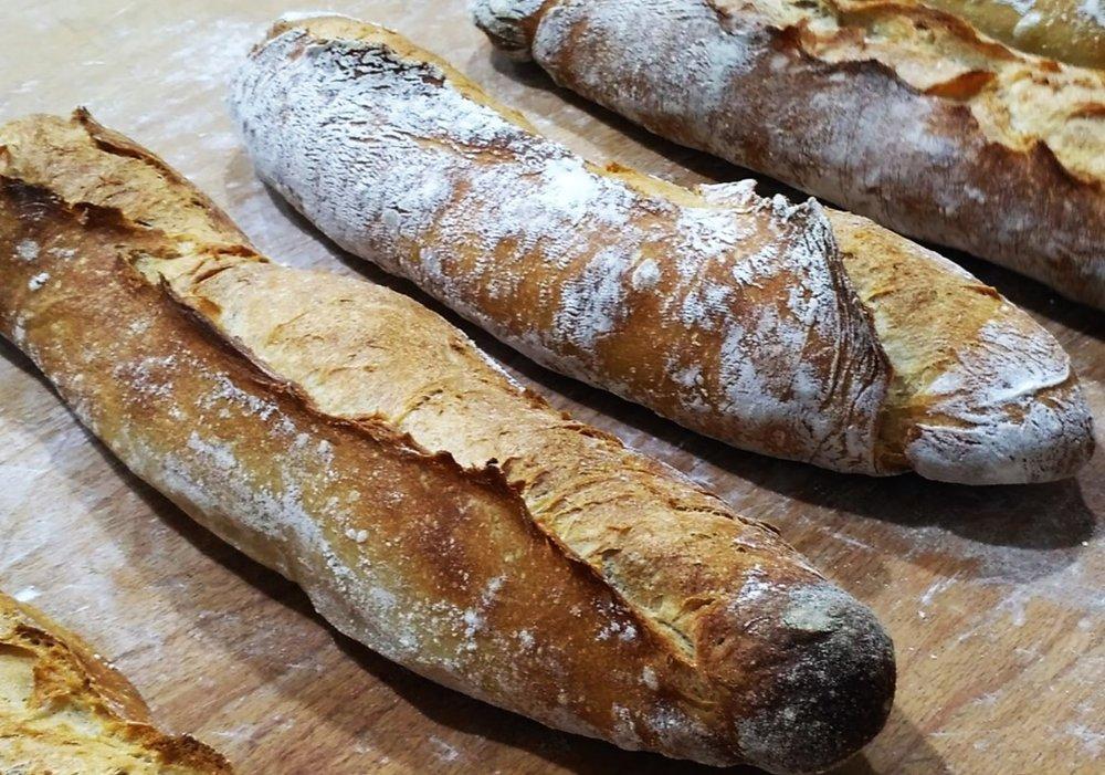 Baguette Francesa - Con harina Tradition Francaise de Le Moulin de Navarre