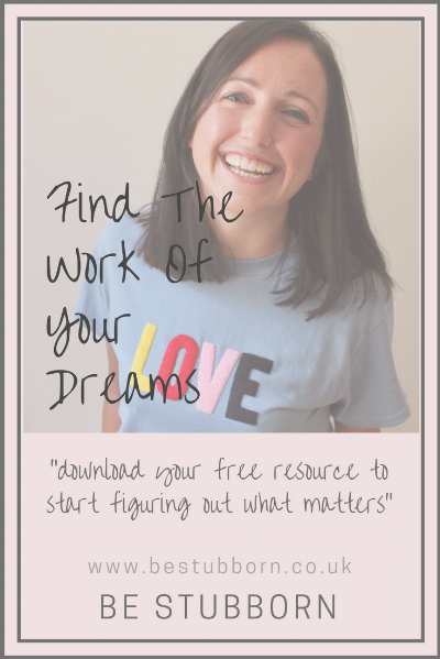 Find the work of your dreams graphic