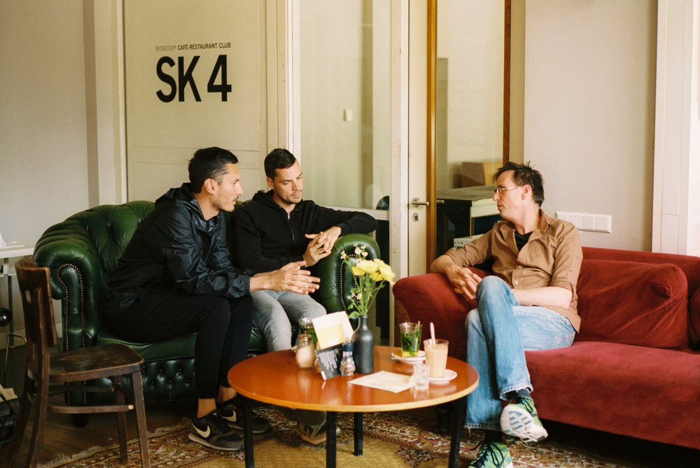 Hassan Kurbanbaev and Misha Kuzhel, with Jan van Esch © Juan Aguirre Fernández-Bravo