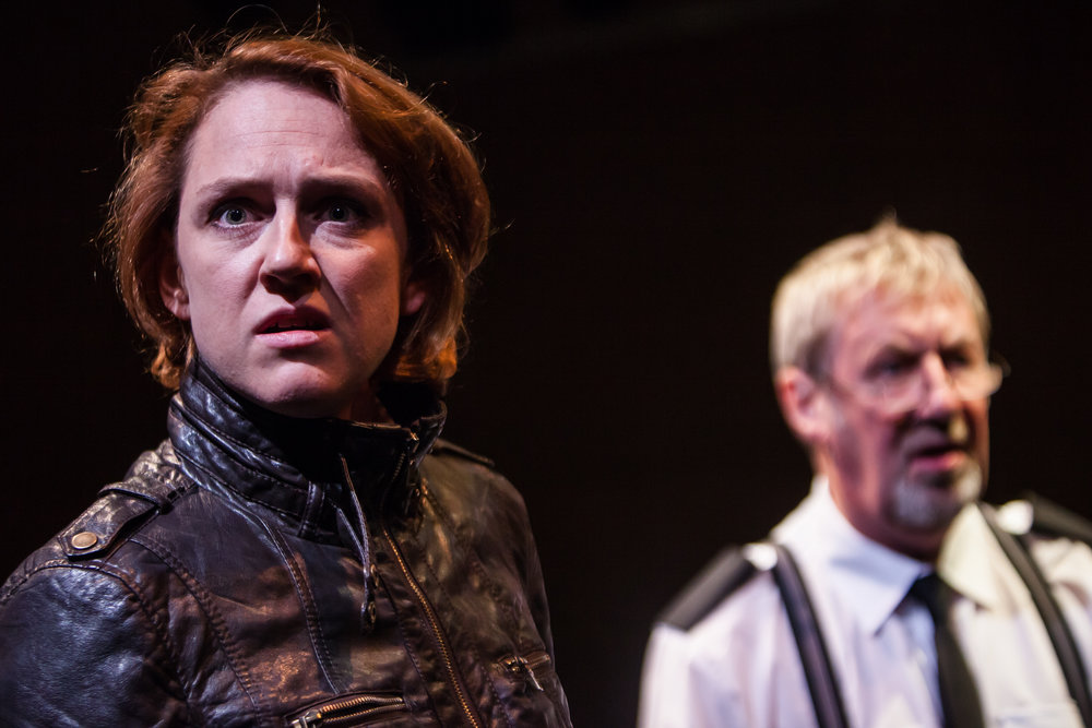 Lesley Hart and John Bett in Dalgety by David Grieg