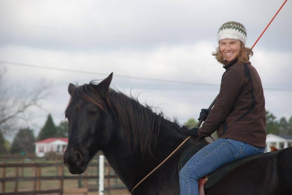 Bekah on Horse