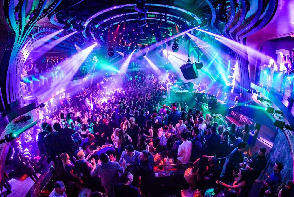Jewel Nightclub bottle service view from the outside. VIP entry and Bottle service by unlock las vegas