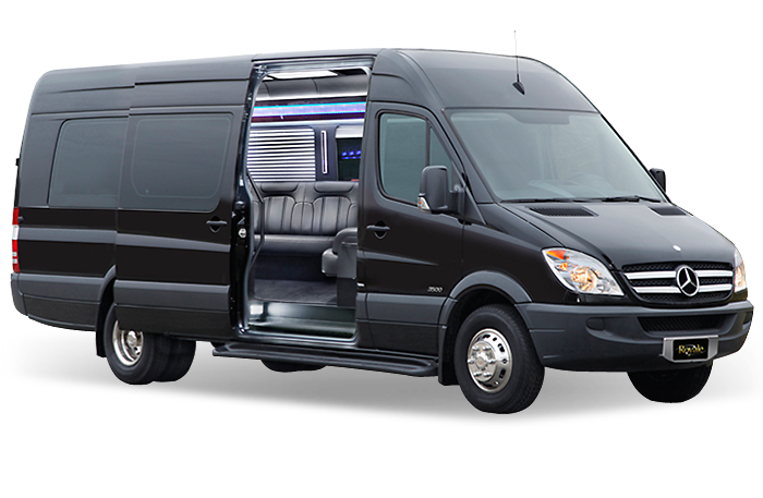 MERCEDES SPRINTER PARTY BUS (UP TO 16 PASSENGERS) -