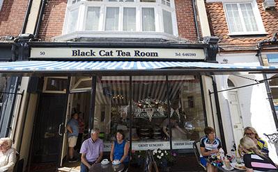 Black Cat Tea Room -