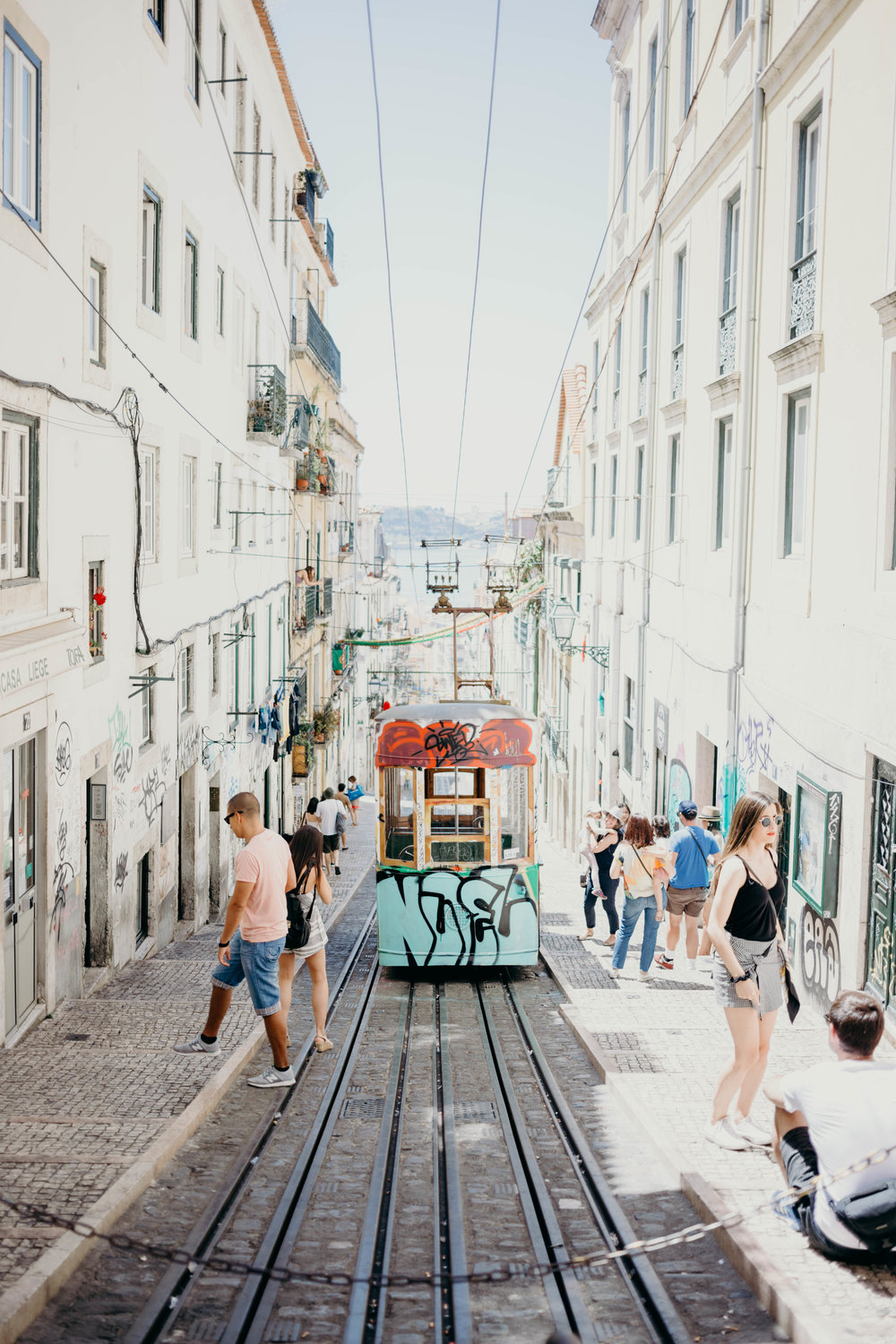 Our Portugal Travel Diary: Lisbon, Porto, and More | On the Street Where We Live (aretherelilactrees.com)  Lisbon tram, Baixa, Chiado