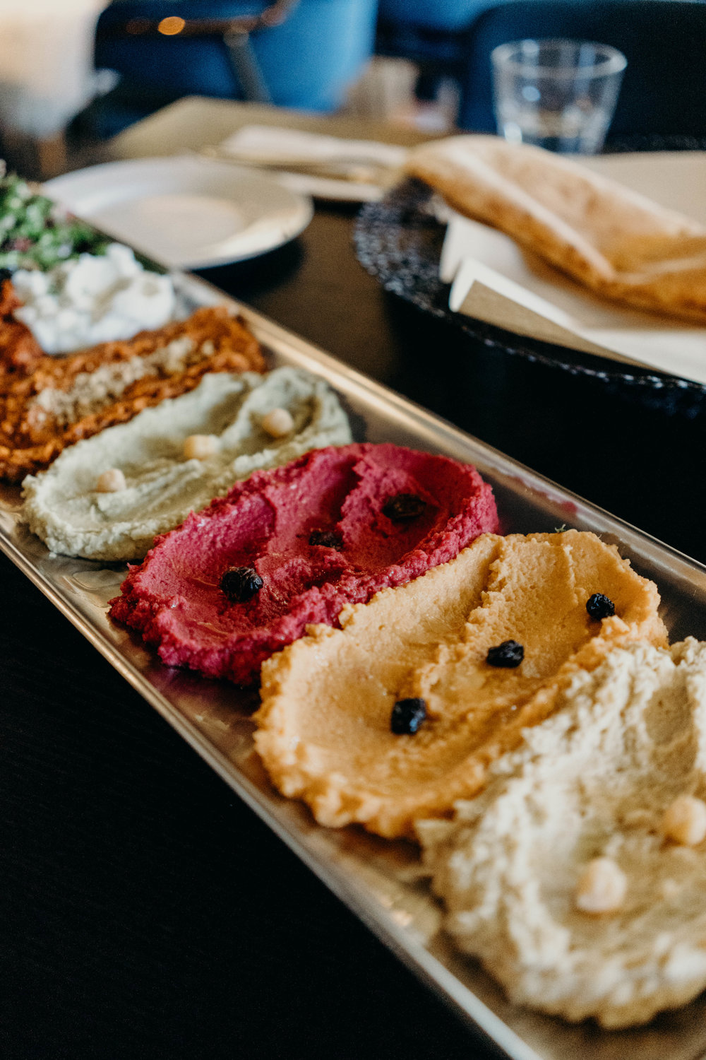A Hummus Platter for Two in Itaewon   On the Street Where We Live (aretherelilactrees.com)  Grill Doha, Seoul, South Korea