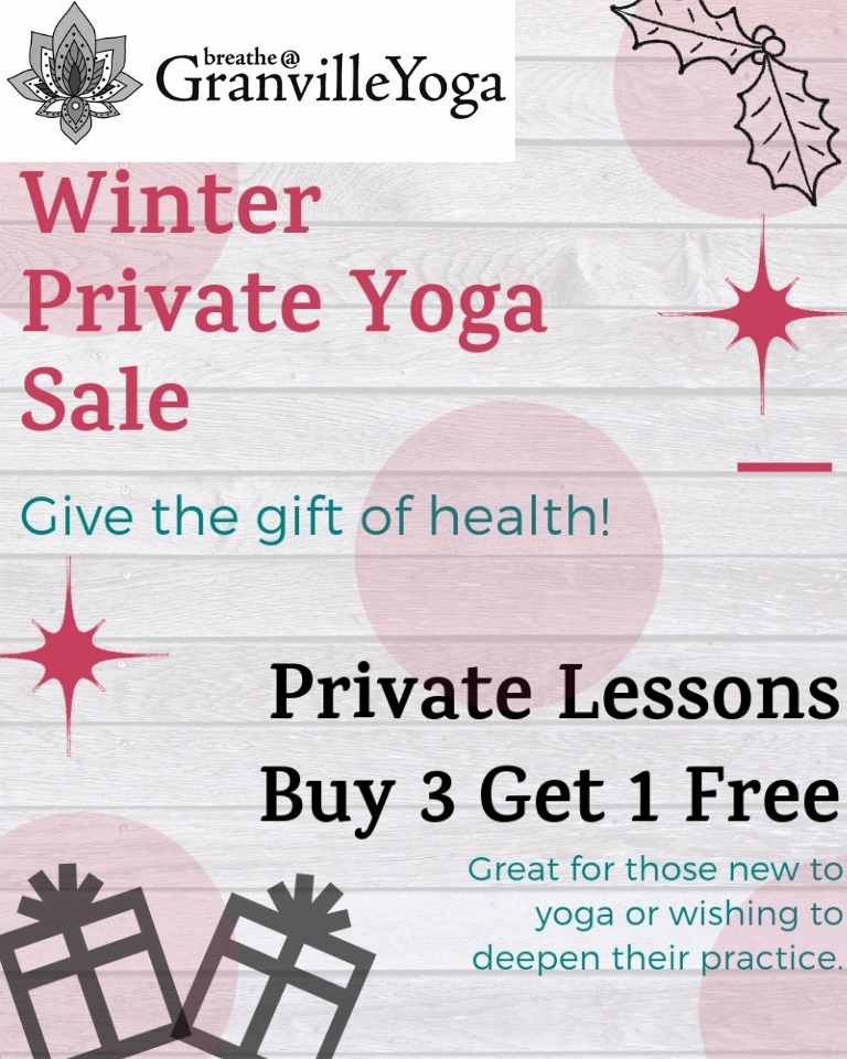 Many of our instructors are offering this PRIVATE CLASS SALE. Speak to your instructor today about this great offer!