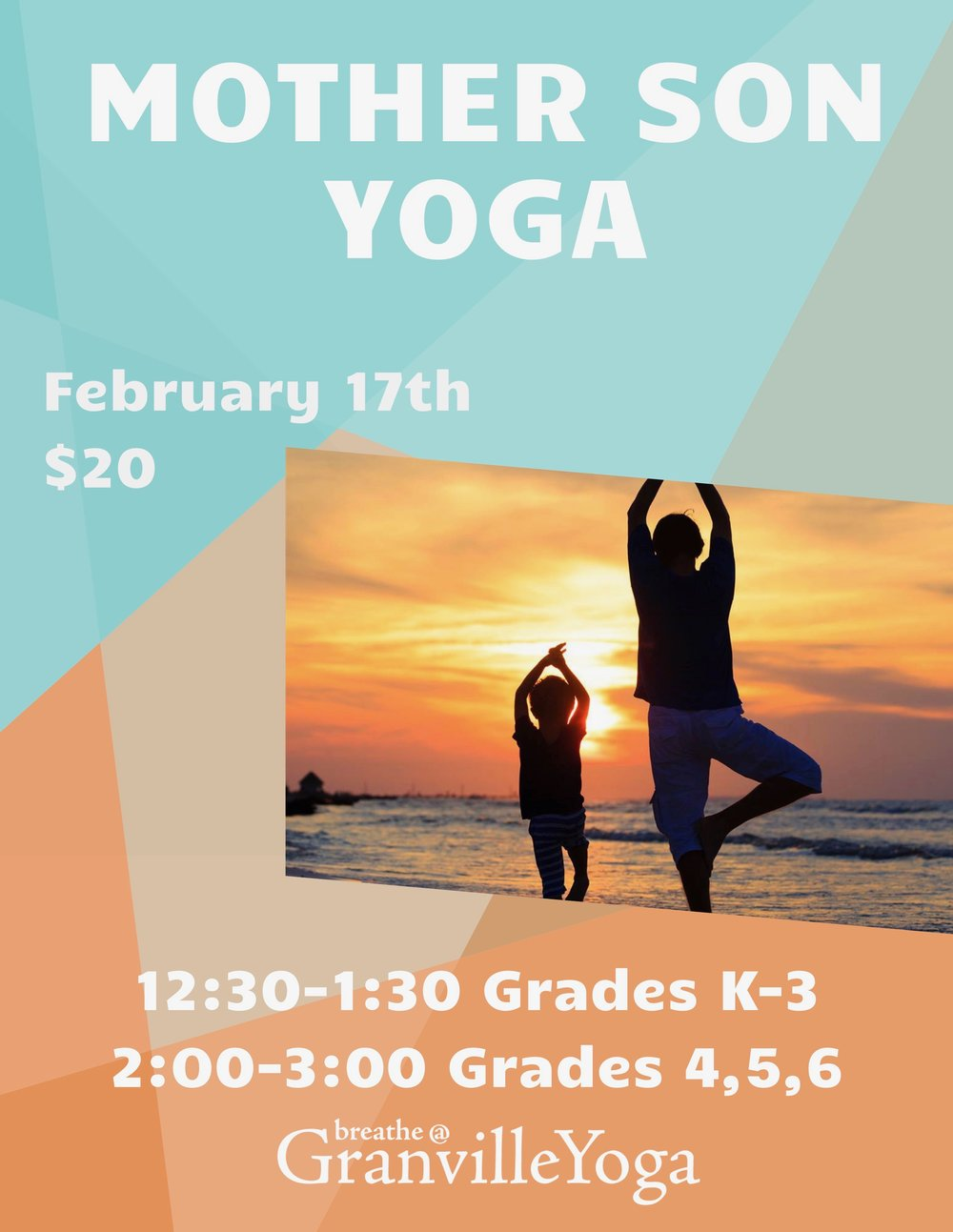Back by popular request! Mom and Son Yoga with Karen Scott!