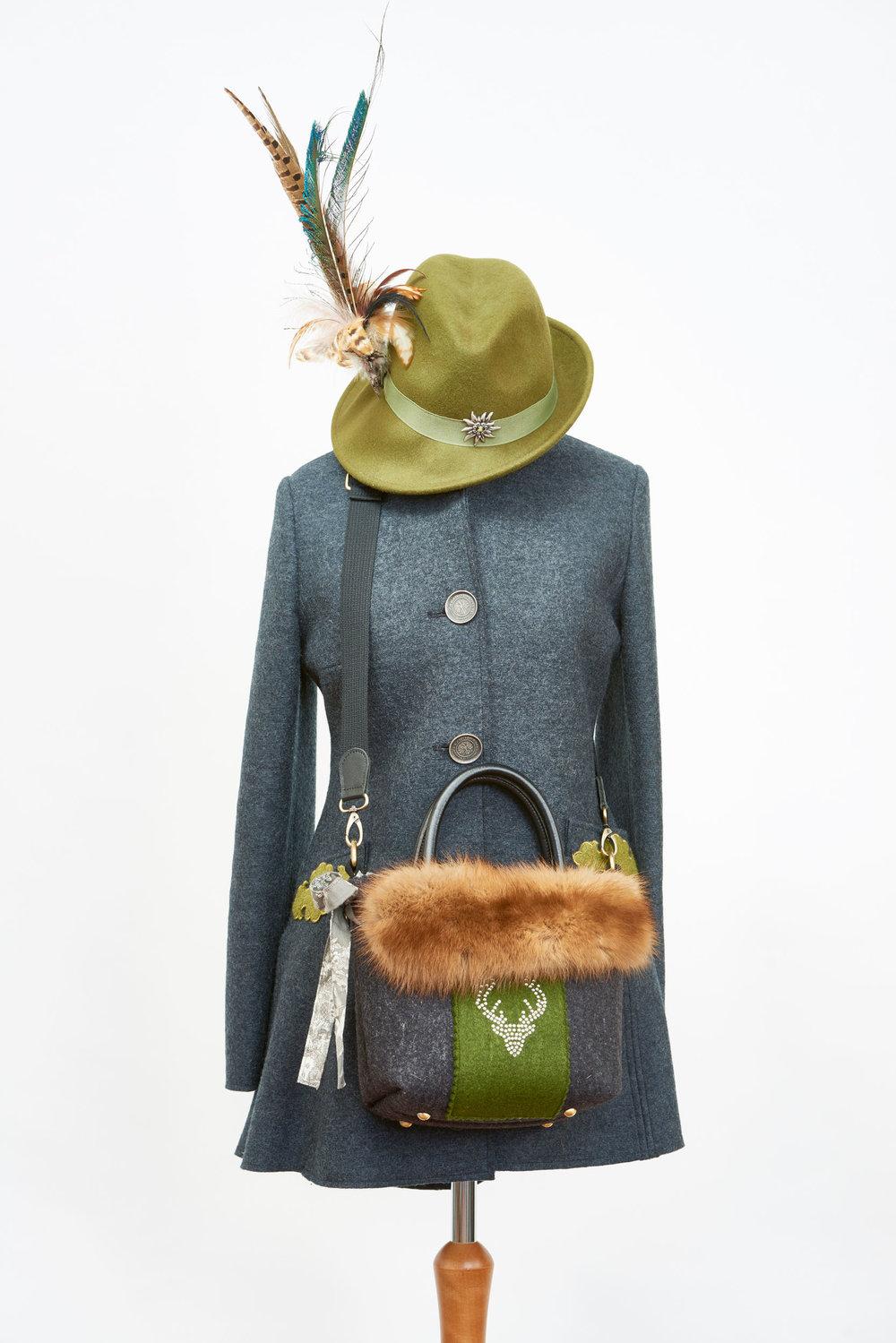 Modedesignerin Huth