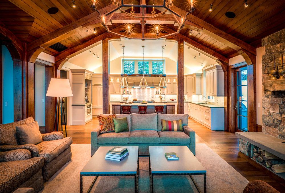Interior Great Room / Kitchen
