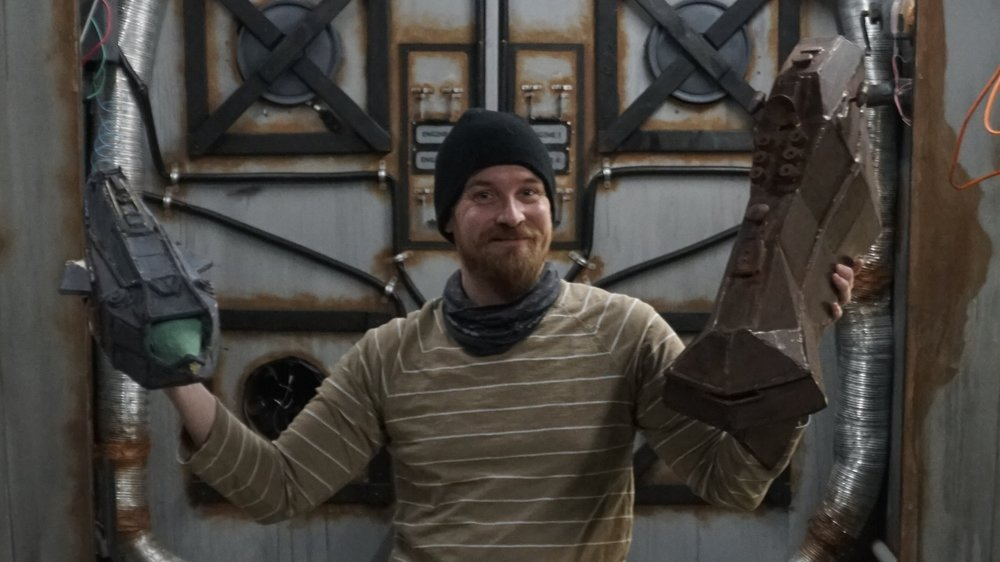 Erik Fjeldsted: Design - Erik is a master of models & sets. He built all the spaceships & sets in Pisces, and he's the best person to be heading up the Production Design for Rama.