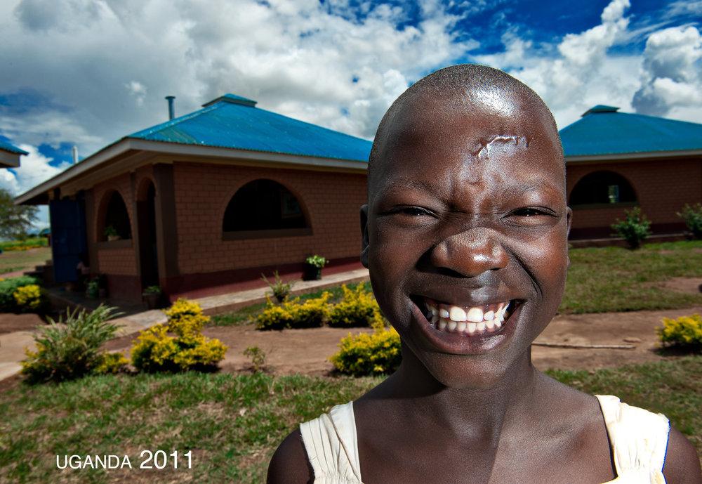Girl from Uganda we met in the Children's Village