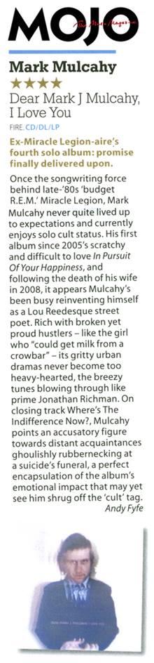 MOJO Magazine (UK) Review - June 2013