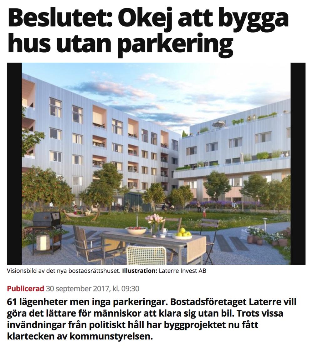 Artikel i Mitt i Upplands Väsby - 2017.09.30 Mitt i Upplands Väsby
