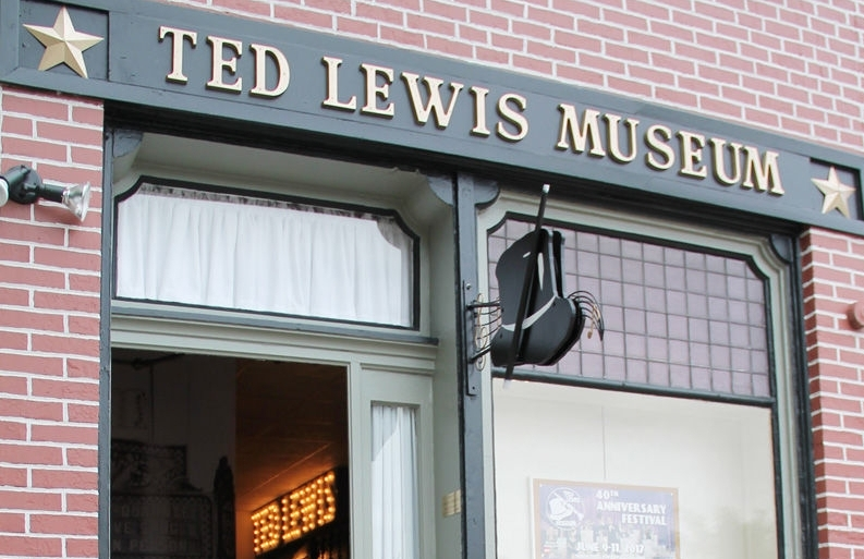 Image result for picture of the Ted Lewis Big band Museum in Circleville