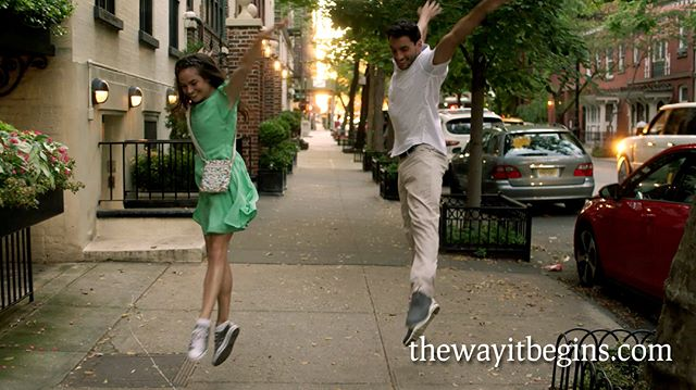 On this day in 2017 (so dramatic!) we were jumping for joy on our 3rd and final day of shooting. The lighting at the sunset brownstone location was absolutely gorgeous but it was the undeniable chemistry of @robertroldan_ and @jkell30 who truly made that day magical.  #dance #musical #shortfilm #robertroldan #jessicaleekeller #newyorkcity #newyork #nyc #summer #independentfilm #flashback #nostalgic #choreography #beccasweitzer #chriswright #jeremyhorn #sunset #brownstone #gramercypark #love #romance #jumpforjoy #filmmaking