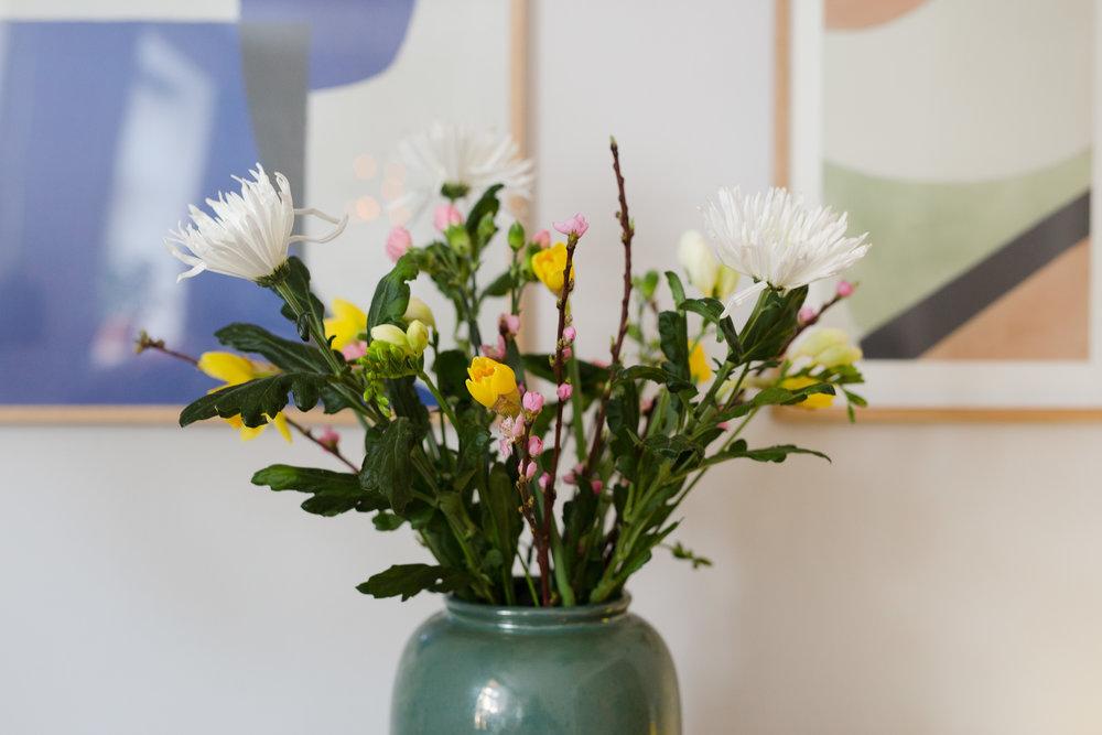 tips til friske blomster