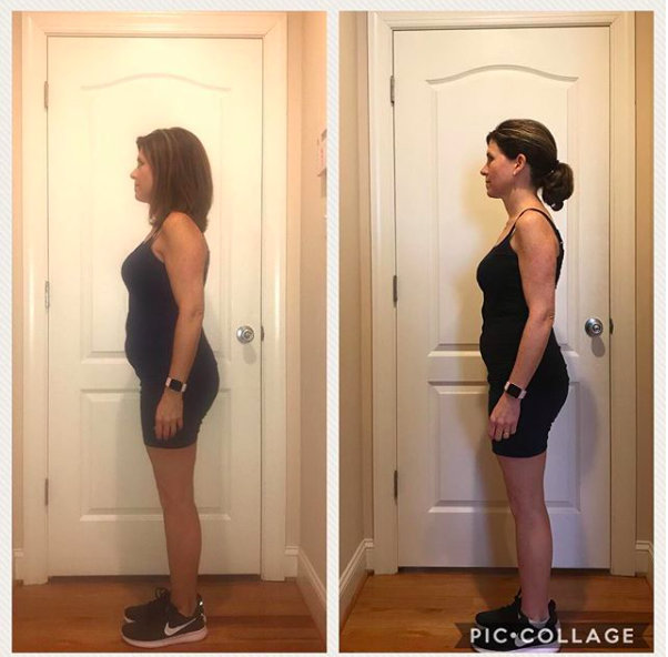 I am so excited to share my FWTFL story! In 6 weeks, I've lost 9 inches and learned so much about nutrition and exercise. For years I've counted calories and exercised several times a week. However, at age 45 I noticed that I was gaining a few pounds each year- especially around my mid-section. I felt tired all the time and I knew that my digestive system was not as healthy as I thought it could be.  The FWTFL has taught me what foods are best to fuel my body and what activities will burn fat. I'm eating MORE food now than ever and exercising SMART. It seems that I was eating way too little and exercising too much. I've also learned how to give my body plenty of rest. I have more energy than ever and feel lighter than ever.  LOVE the variety of food with carb cycling! It ensures that I never get bored of eating the same thing and the variety of exercises are genius!  This is a lifestyle that I'll be able to use forever. Thanks so much Amanda! Worth every penny!  Sherrie