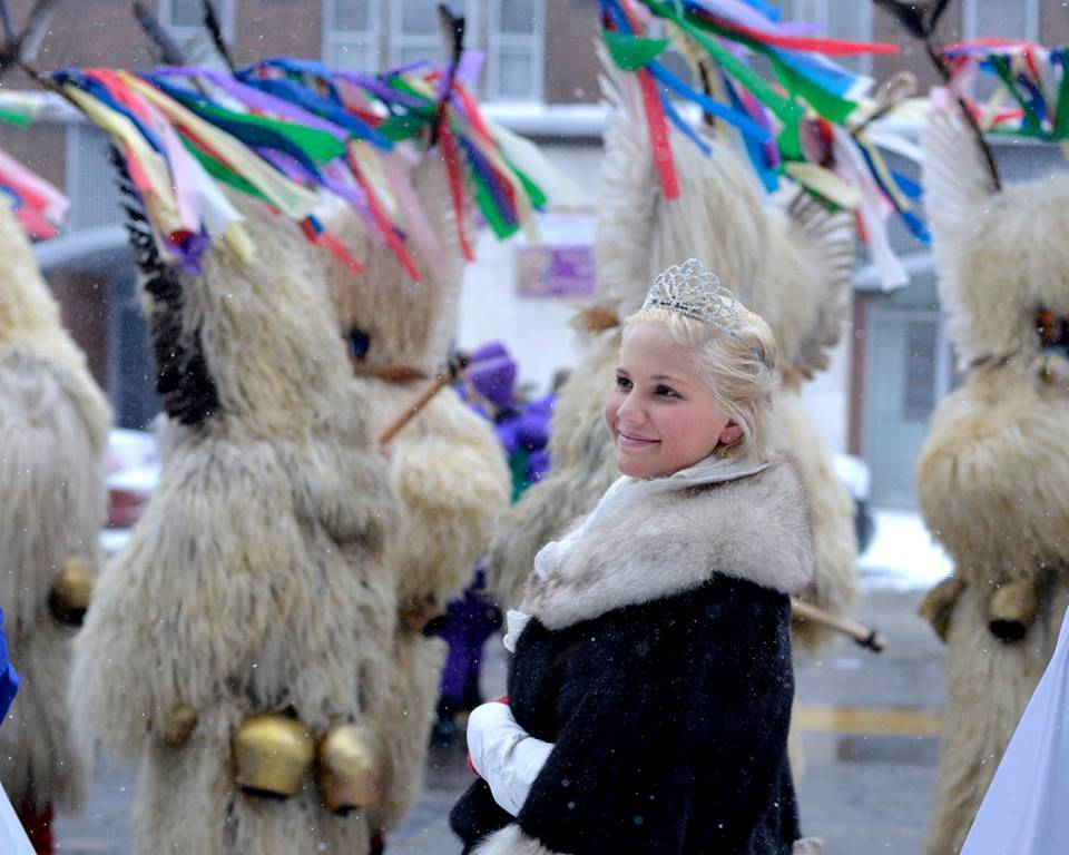 The Cleveland Kurentovanje Festival happens each February