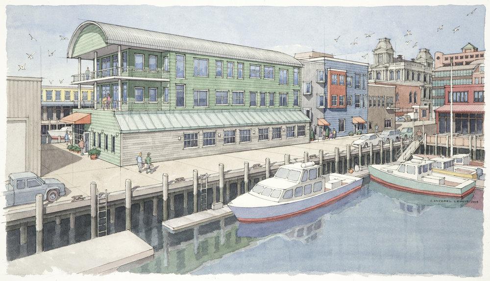 Maine Wharf