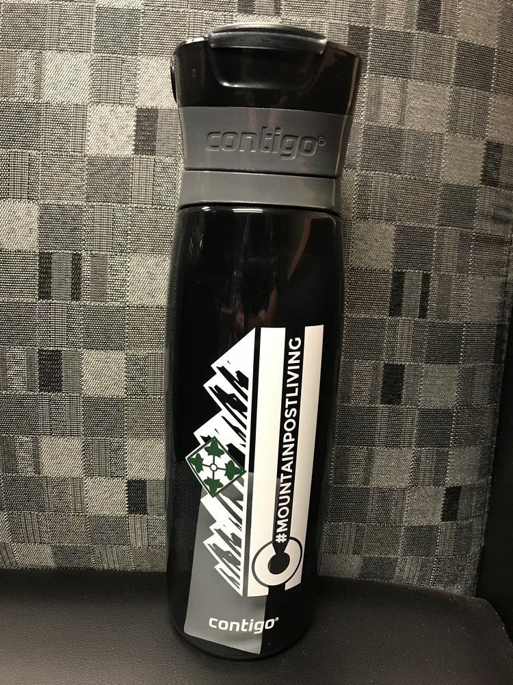 MPL Water Bottle - Win a Mountain Post Living Contigo Water Bottle!