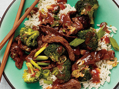 Beef Broccoli Stir Fry -