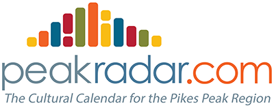 Peak Radar   Peak Radar is a comprehensive arts & culture community events calendar that covers everything from theater to sports, music to film, and poetry to outdoor recreation, and is a vital tool for growing audiences and increasing cultural engagement across our region. Peak Radar is also the place to go to find great things to do throughout the Colorado Springs community such as   gallery exhibitions  ,   sportingevents  ,   festivals  ,   performances  ,   concerts  ,   workshops  , and much more! Please use the menu navigation to browse popular categories, or simply search our site to find events by keyword, category, venue, or date. There's always something happening on PeakRadar.com!
