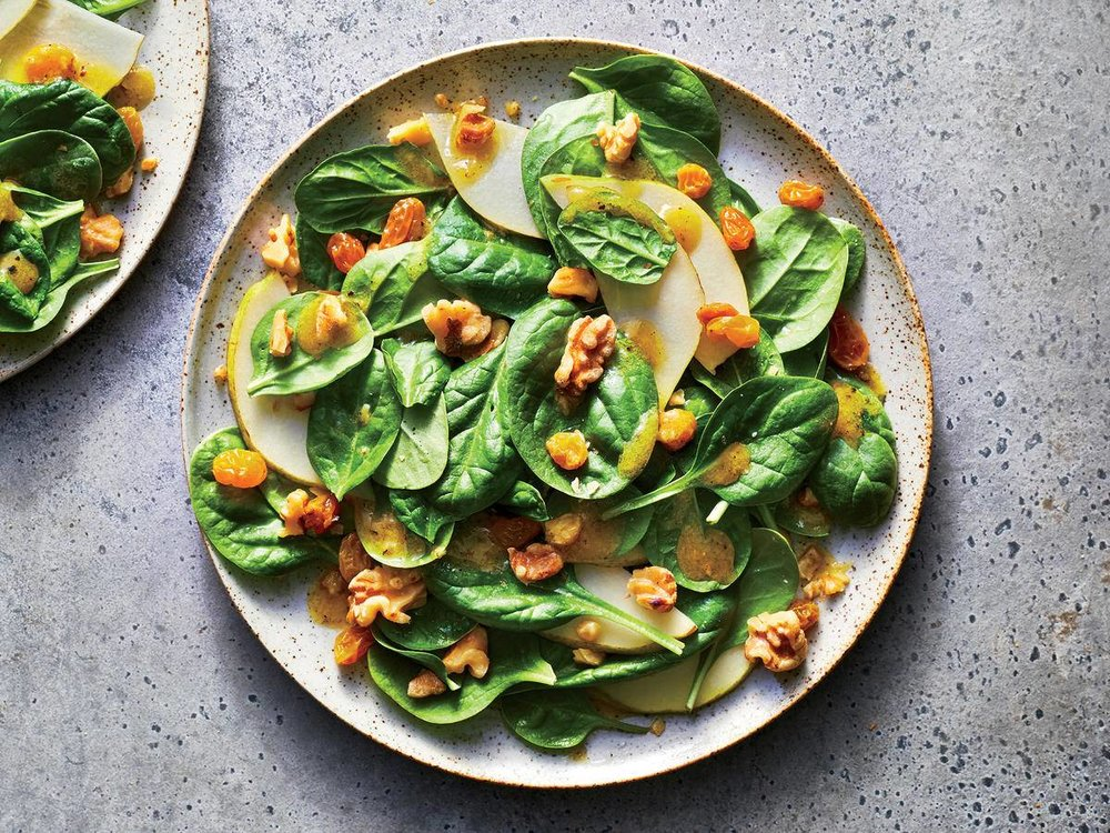 Honey-Ginger Pear Salad -