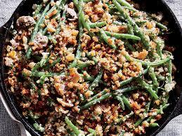 Skillet Green Bean Casserole -