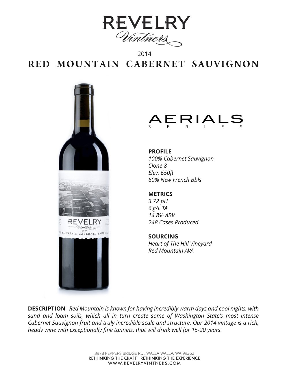 2014 RED MOUNTAIN CABERNET SAUVIGNON