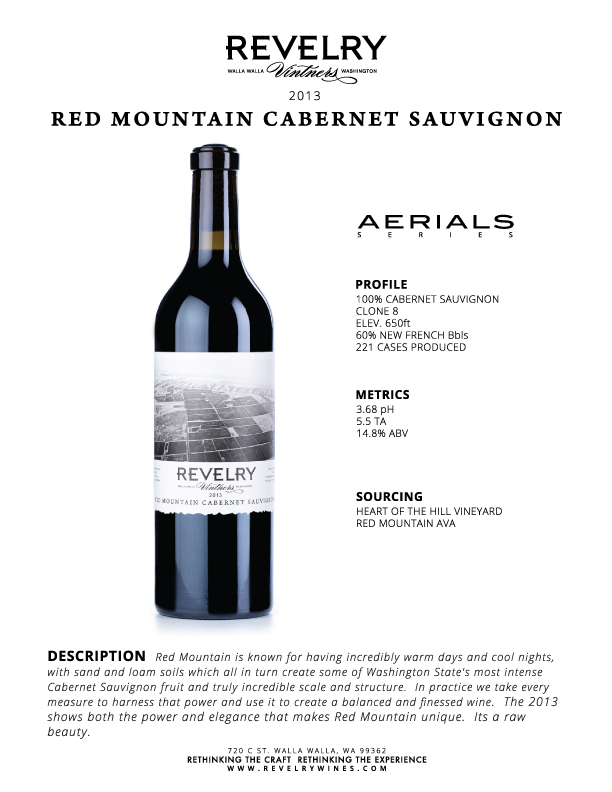 2013 RED MOUNTAIN CABERNET SAUVIGNON