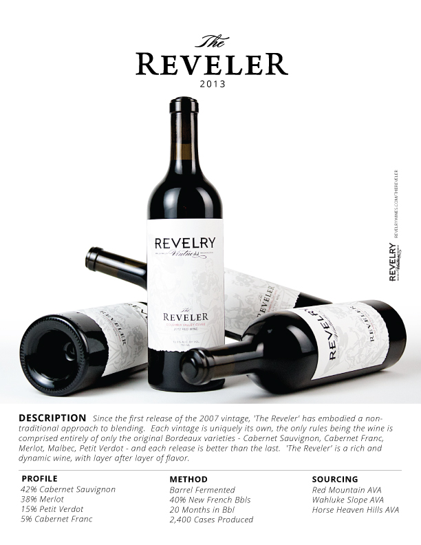 2013 'THE REVELER'