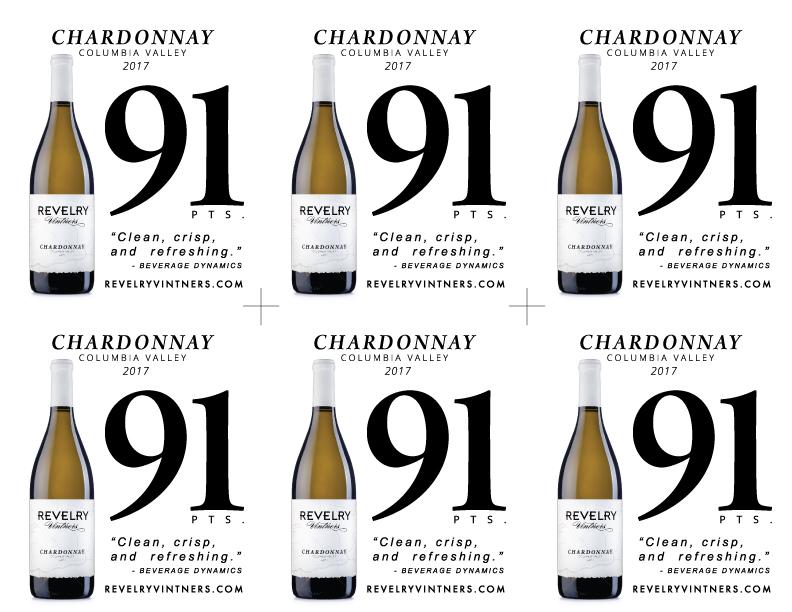 2017 CHARDONNAY 91PTS