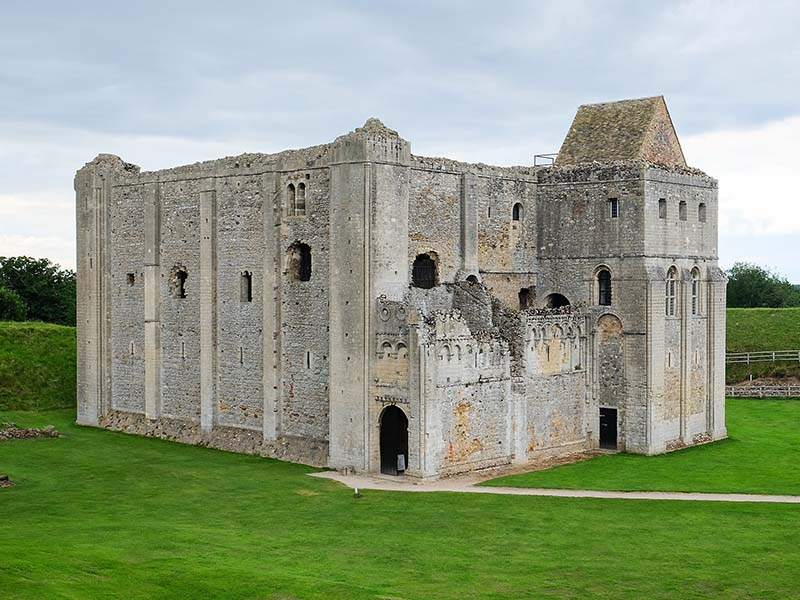 Castle Rising, Norfolk, England  Image Source: ©  DeFacto  / Wikimedia Commons /  CC-BY-SA-4.0