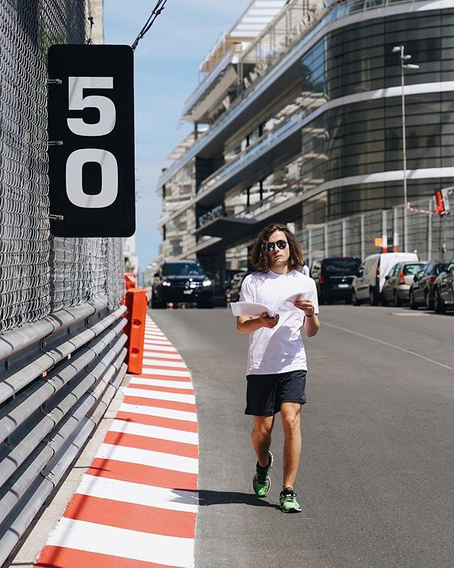 Track walk done ✔️ Can't wait to be in the car here tomorrow #MD33 📸 @trakntalk