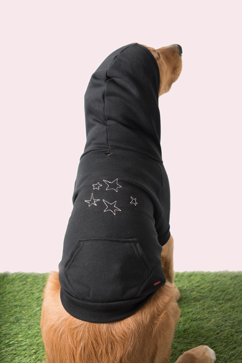 N:PHILANTHROPY - BONE HOODIE WITH STARS