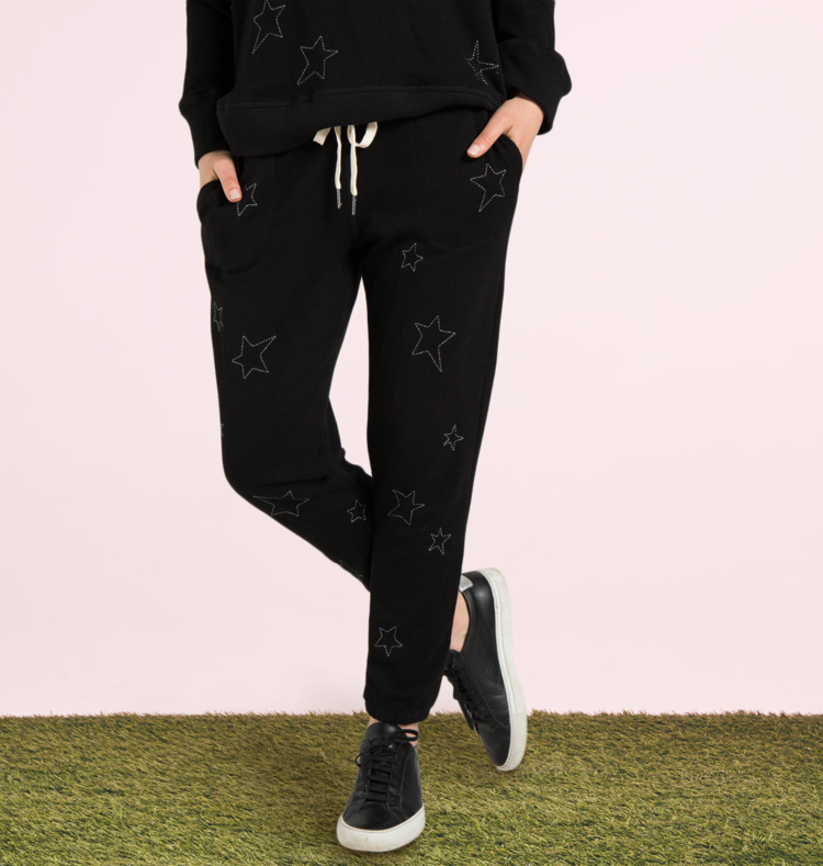 N:PHILANTHROPY - NIGHT JOGGER STAR EMBROIDERY