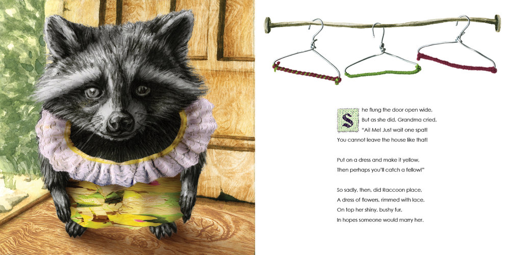 Raccon Goes to Market