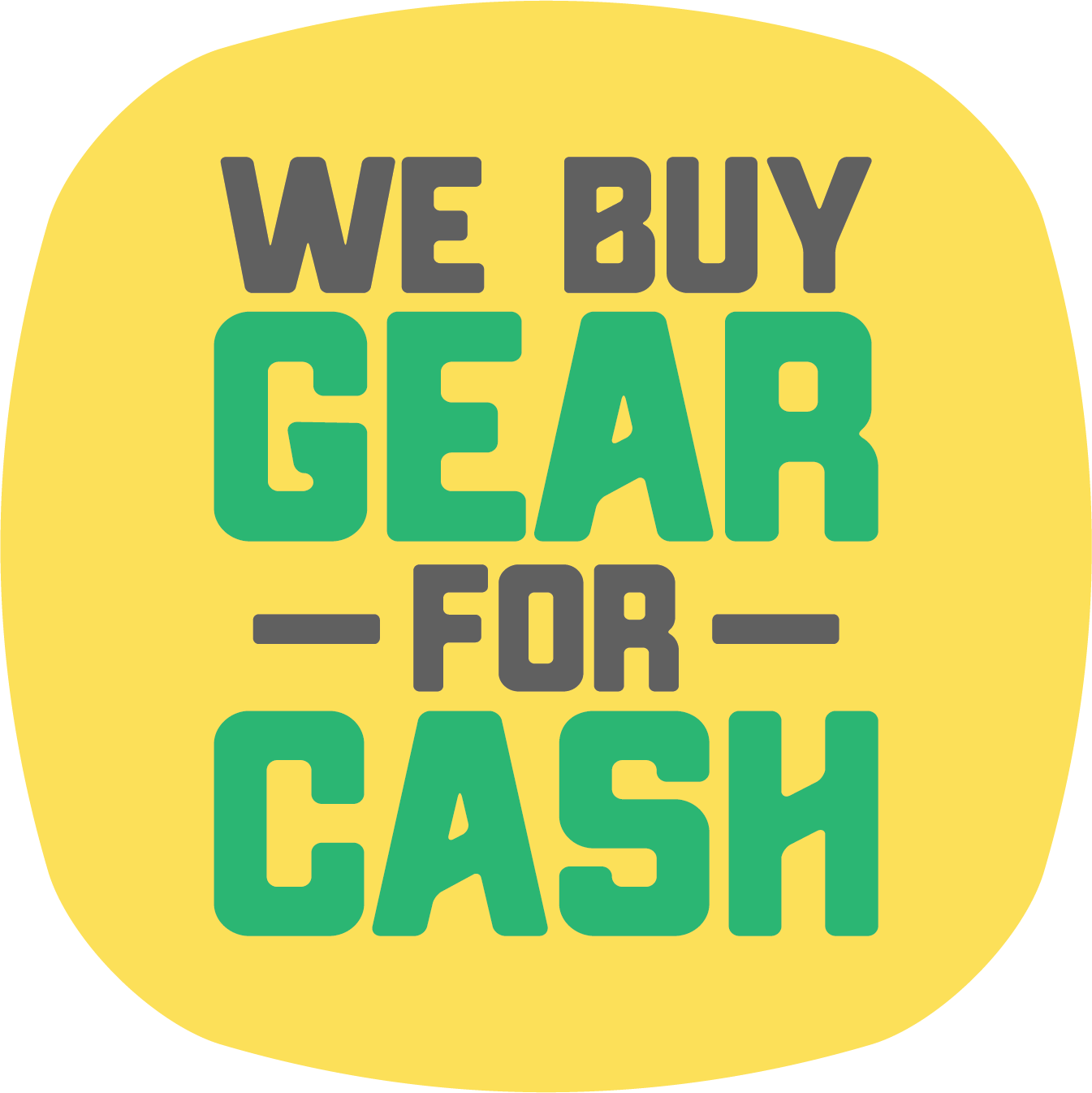 We Buy Gear For Cash!