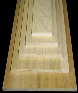 Softwood Boards & Sheets - Clear Radiata Pine | Ultralite MDF | Finger Joint Clay Coat | Finger Joint Primed | Finger Joint BareS4S Boards:1 x 4 | 1 x 6 | 1 x 8 | 1 x 10 | 1 x 125/4 x 4 | 5/4 x 6 | 5/4 x 8 | 5/4 x 10 | 5/4 x 12E2E Boards:1 x 4 | 1 x 6 | 1 x 8