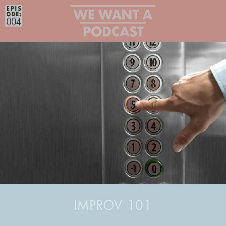 WWAP 004: Improv 101 - This episode has got everything: Kindergarten Cop, 3 Ninjas, Harry Potter, The Lion King, Bring It On, etc. Plus you'll learn what to do if you ever find yourself stuck on an elevator.In this one we discuss Andrea's magical capacity, gunplay, dog insurance, Kangaroo breeding techniques. Finally, we meet Samuel Sung, the world's first artificially intelligent television. SUCK IT!