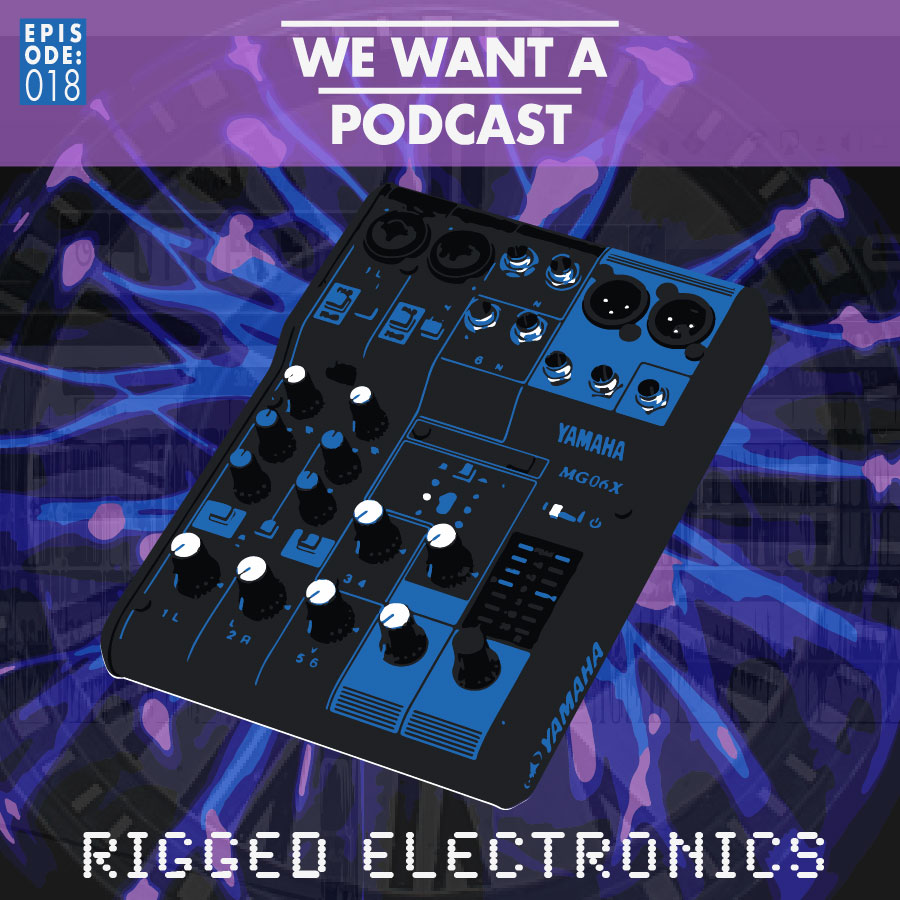 WWAP #018: rigged electronics - This episode kicks off the unofficial second season of WWAP. We're in a different room, we've upgraded our equipment, and we've recruited a new co-host: Tully, a dog possessed by evil spirits bent on ruining podcasts.In many way our new set-up is ... bad. Not good. Worse than before. On the other hand, our old first season tech didn't afford us the opportunity to travel to strange new worlds like outer space or whatever. They didn't drop us into the laps of strange farmers, or introduce us to any mole crittles.Up in this one we learn about the secret tunnels winding underneath the surface of our world. We find out about the powerful magic fumes that linger deep within the core of our hollow earth. We're reminded how gunk spreads. Then we talk technology regarding a Confederate T-Rex.Finally, we hum songs bad, chat about apps, and discuss fonts with Swiss watch designer Max Helvetica.