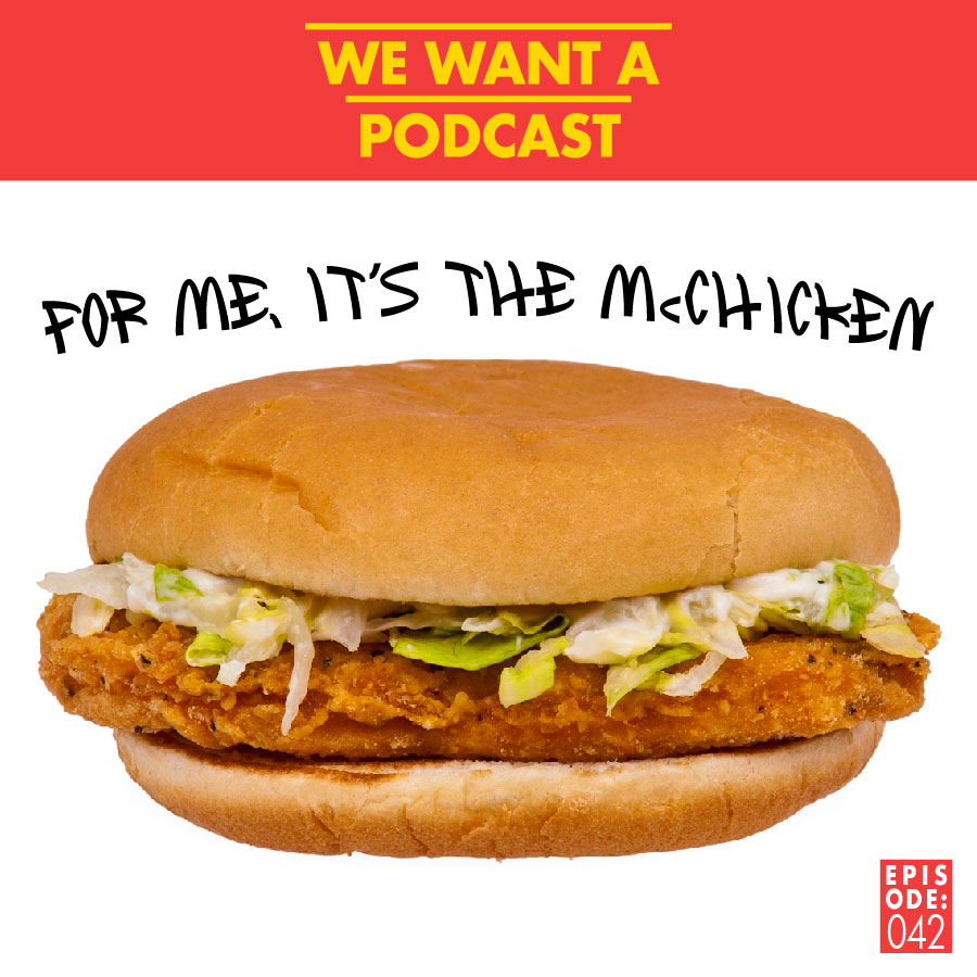 042: For me, it's the McChicken - We're snowed up in this one, but you know what they say: You've gotta take life one ruined bottle of orange juice at a time.This week we're talking about horny ornithologists and learning about superstitions from the English Channel to the Far East. We also have a frank and open conversation about mirrors vs eyeballs. Oh, and we discover a rogue AI randomly generating some Google reviews / copypastaWant to know who wore it better in Red Dead Redemption 2 ? Tune in and like skip forward to that part then I guess jeez