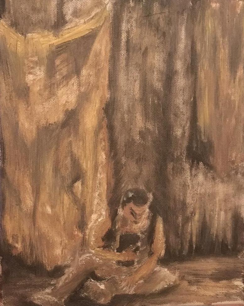 """An Iliad  Oil on Canvas  8.5"""" x 10"""""""